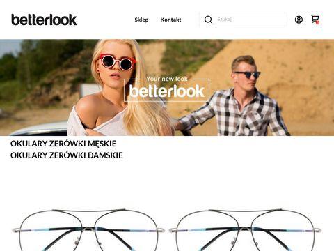 BETTERLOOK - okulary przeciws艂oneczne & zer贸wki