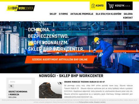 Sklep BHP online - BHP Work Center Wałbrzych