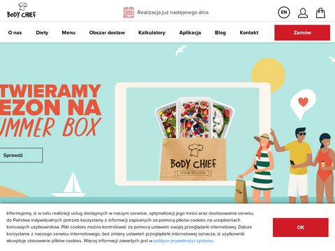 Zdrowy catering, dieta | Body Chief