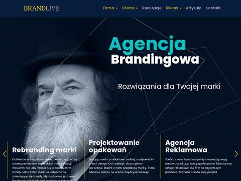 Brandlive.pl - Agencja Kreatywna Warszawa- Identyfikacja Wizualna