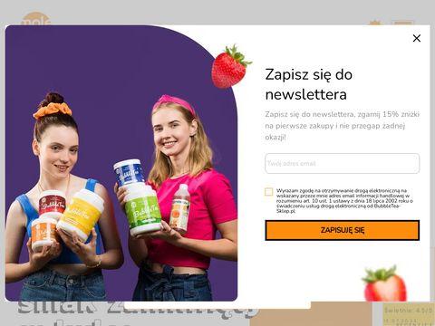 Sklep z Bubble Tea - Molecula