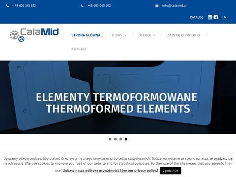Calamid: profile PVC do chłodnictwa i bram garażowych