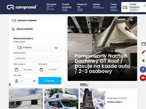 Wynajem przyczep kampingowych - camproad.pl