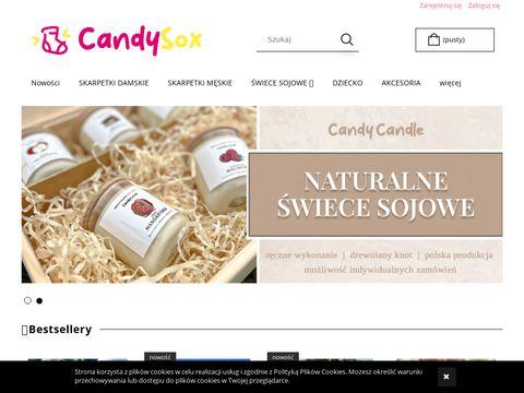 Kolorowe skarpetki Candy Sox
