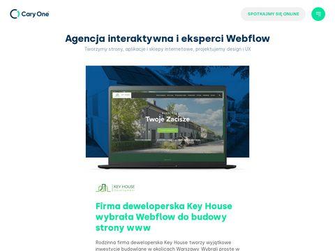 Cary One™ - Agencja interaktywna Gdańsk - strony internetowe, aplikacje mobilne, sklepy internetowe