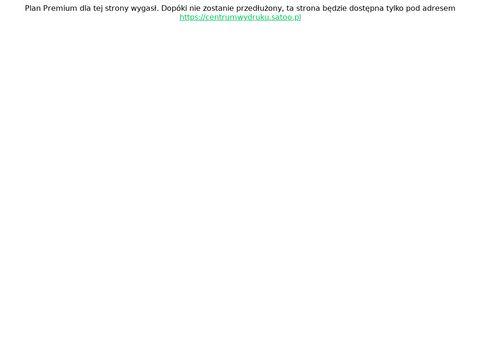 Drukowanie materiałów reklamowych - centrumwydruku.pl