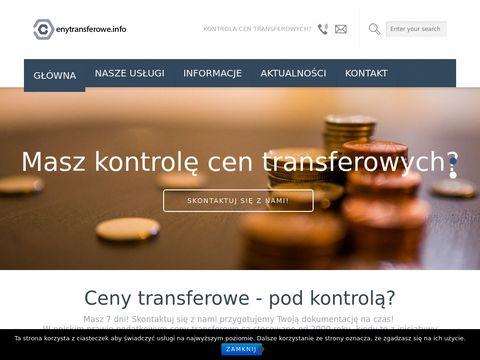 Ceny transferowe | Dokumentacja cen transferowych - cenytransferowe.info