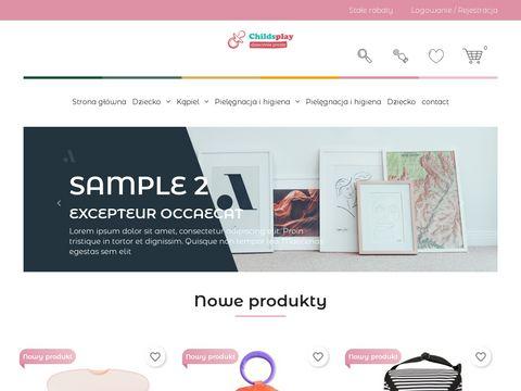 Childsplay.pl - zabawki edukacyjne