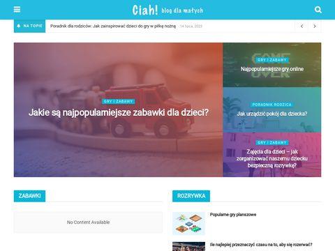 Blog dla dzieci - rozrywka, gry, zabawa dla najmłodszych