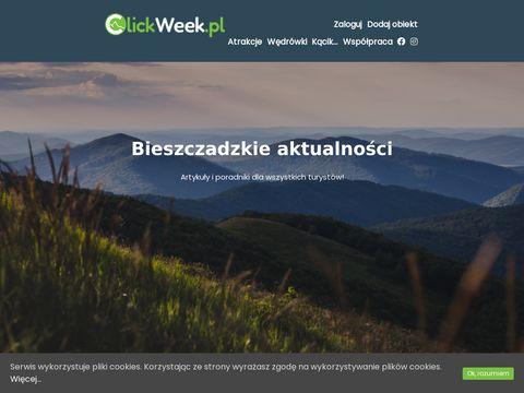 ClickWeek.pl 鈥� Bieszczady noclegi, domki, pokoje, apartamenty