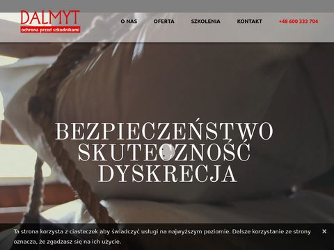 Zwalczanie szkodników Dalmyt Sp. z o.o.