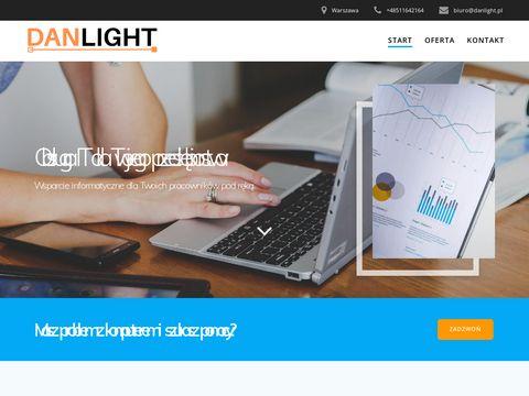 Sklep z oświetleniem led łazienkowe, lampy do salonu, ogrodu i biura danlight.pl