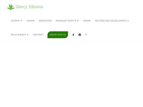 Masaż leczniczy Wrocław - dawcyzdrowia.pl