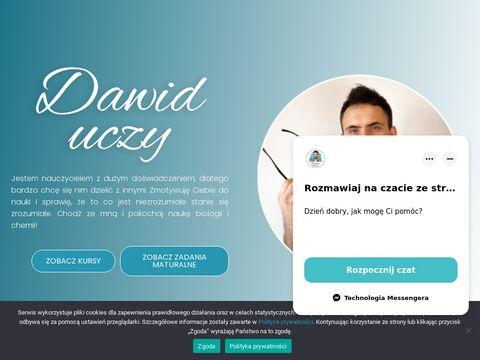 Platforma edukacyjna Dawid Uczy