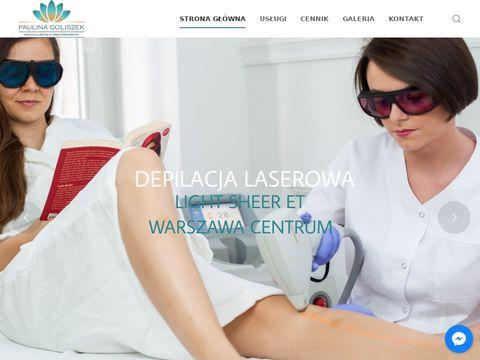 Paulina Goliszek - salon kosmetyczny Warszawa Centrum