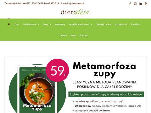 Poradnia dietetyczna Warszawa - Dietosfera