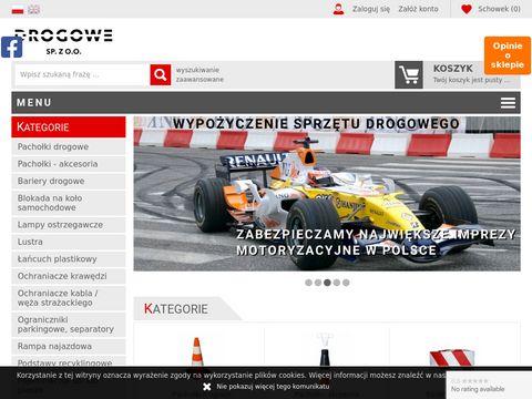 Pachołki drogowe - drogowe.com.pl