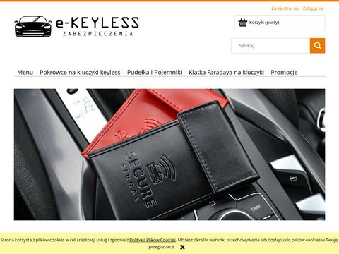 Etui, pude艂ko na kluczyki samochodowe - e-Keyless