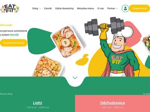 Dieta pude艂kowa i Catering Dietetyczny - Eat Fit Catering w 艁odzi