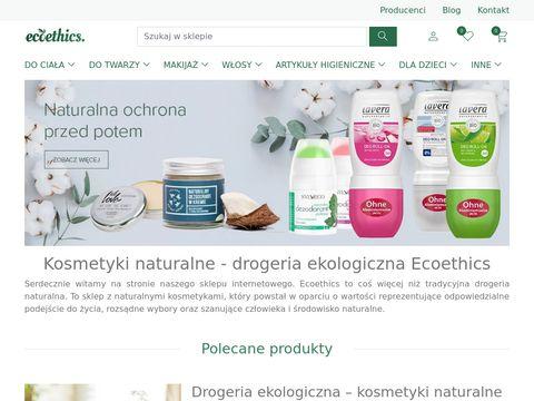 Drogeria ekologiczna Ecoethics