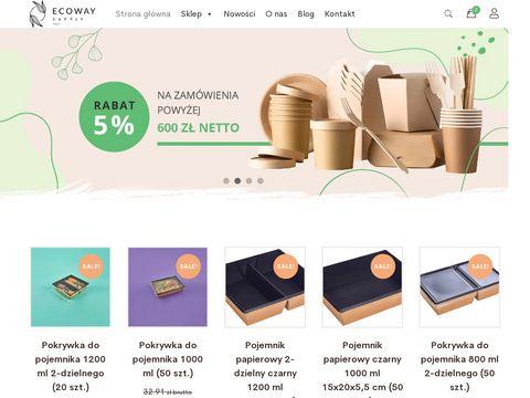Opakowania biodegradowalne - ecoway.supply