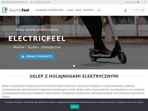 Hulajnogi elektryczne - ElectricFeel.pl