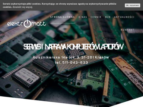 Elektromatt Serwis komputerów Kraków