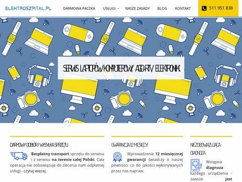 Serwis laptopów, komputerowy, AGD-RTV | Warszawa Mokotów, Wilanów, Urysnów