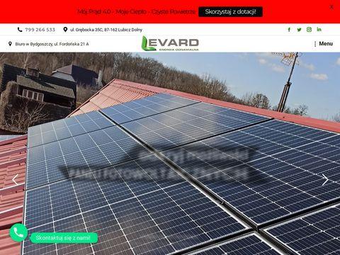 LEVARD Sp. z o.o. Sp. k. - elektrownie fotowoltaiczne, pompy ciepła, kolektory słoneczne