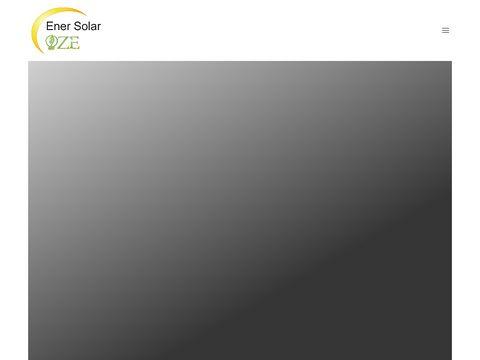Ener Solar OZE - Fotowoltaika i ogrzewanie na podczerwien