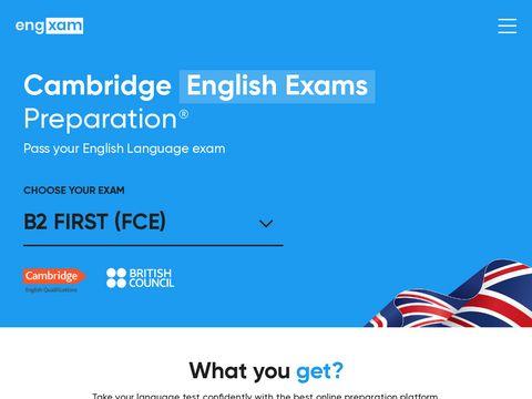 Pass your Cambridge English exam! | engxam.com