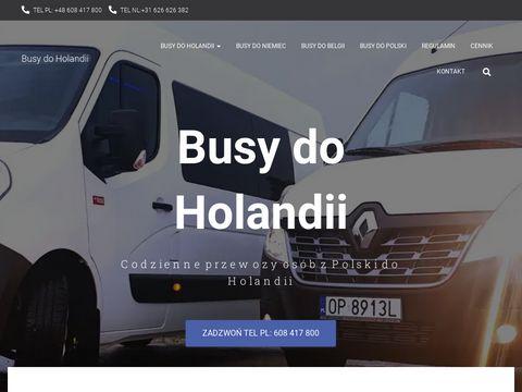 Busy do Holandii - Europe-bus.pl - Przewozy Polska Holandia