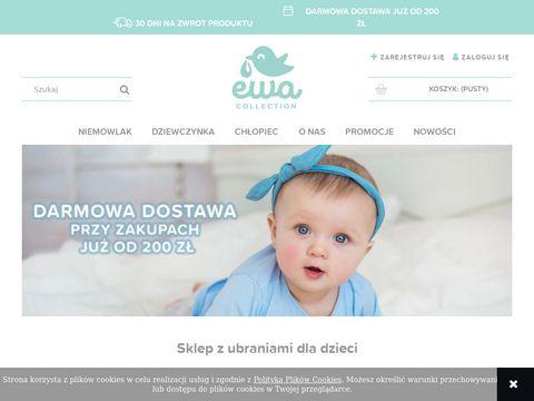 Sklep z ubraniami dla dzieci - Ewa Collection