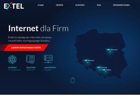 Internet światłowodowy dla Biznesu i Firm - Extel