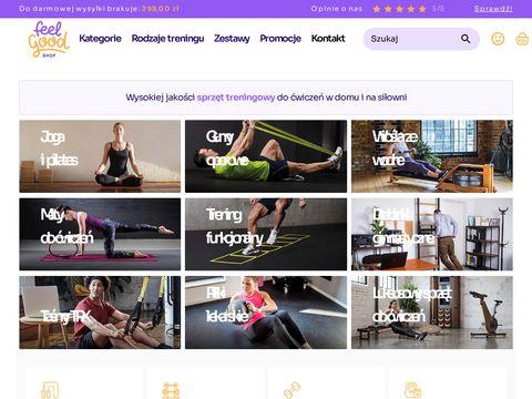 Sprzęt do ćwiczeń na siłownię - FeelGoodShop.pl
