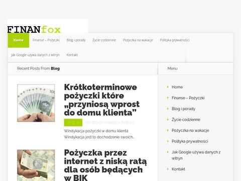 Finanfox - Informacje Finansowe