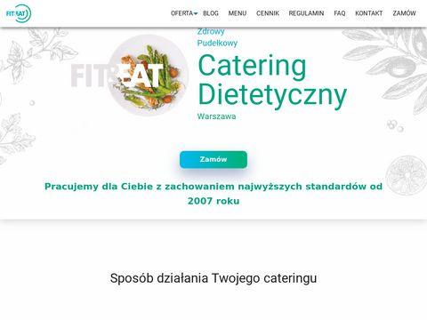 Pudełkowy catering dietetyczny