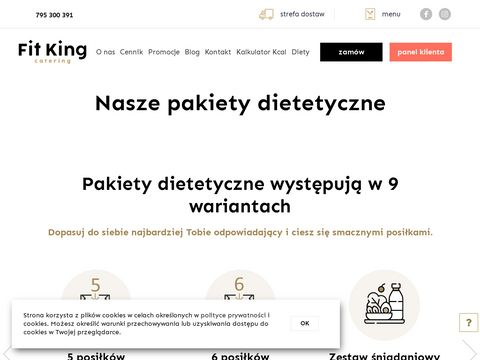 Catering dietetyczny Fit King