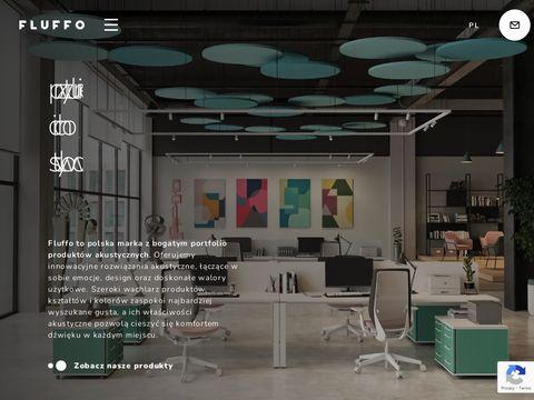 Panele wygłuszające | Fluffo.pl