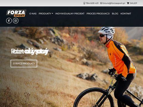 FORZA SPORT - Producent odzieży sportowej