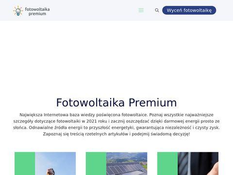 Fotowoltaika Premium - panele solarne, ranking producentów i wykonawców fotowoltaiki