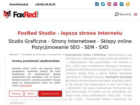 FoxRed Studio - Strony internetowe, Pozycjonowanie, Grafika, Marketing