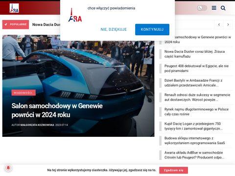 Dziennik motoryzacyjny - francuskie.pl