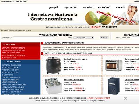 Sklep gastronomiczny gastronomiczne.pl