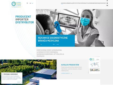 Odzież jednorazowa - globalhygiene.pl