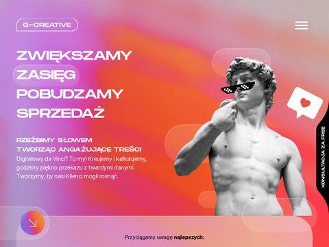 Agencja reklamowa - Pozna艅   Globe System