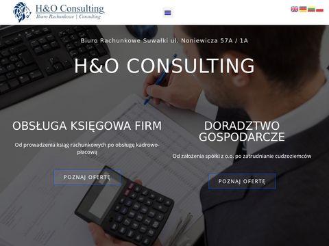 H&O Consulting Biuro rachunkowe Suwałki