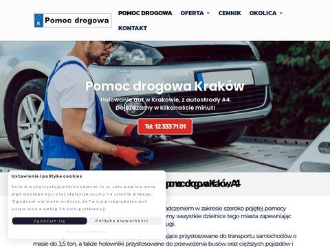 Tania pomoc drogowa Kraków - sprawdź ofertę!