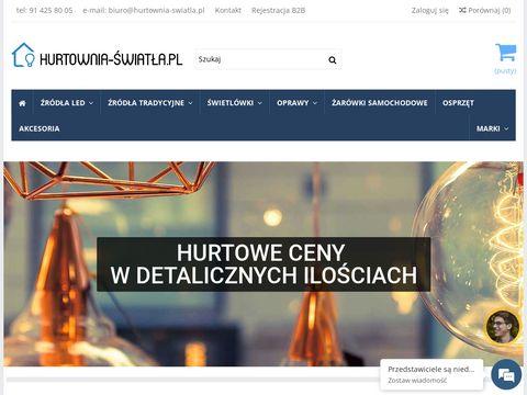 Hurtownia Światła - sprzedaż hurtowa i detaliczna źródeł światła i opraw
