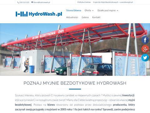 Myjnie bezdotykowe HydroWash